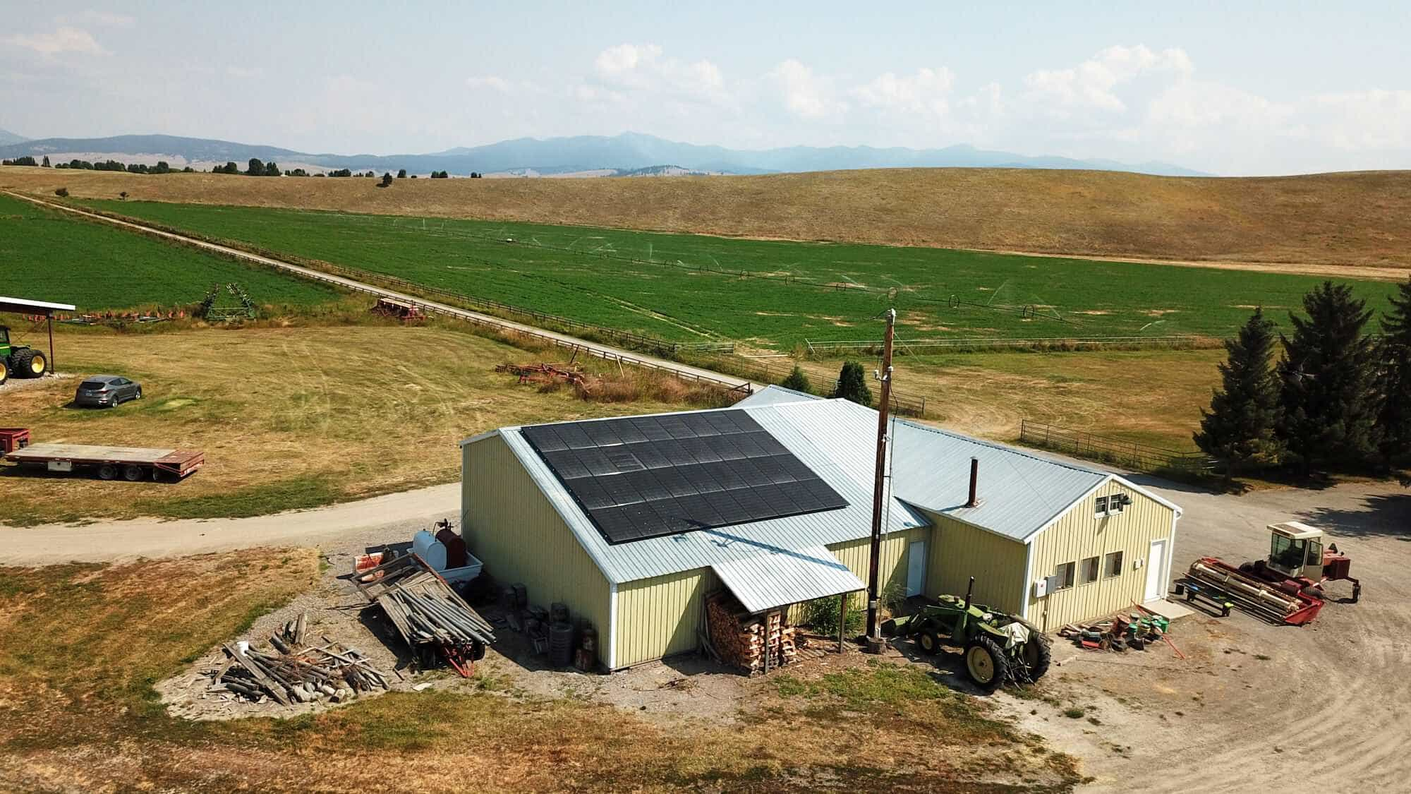 Solar Barn Power