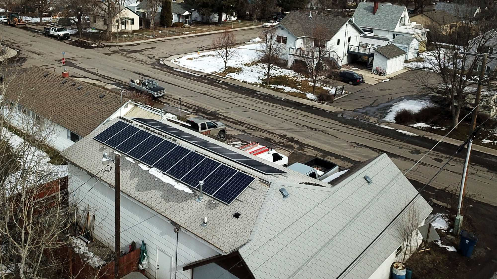 Solar Panels on our offices