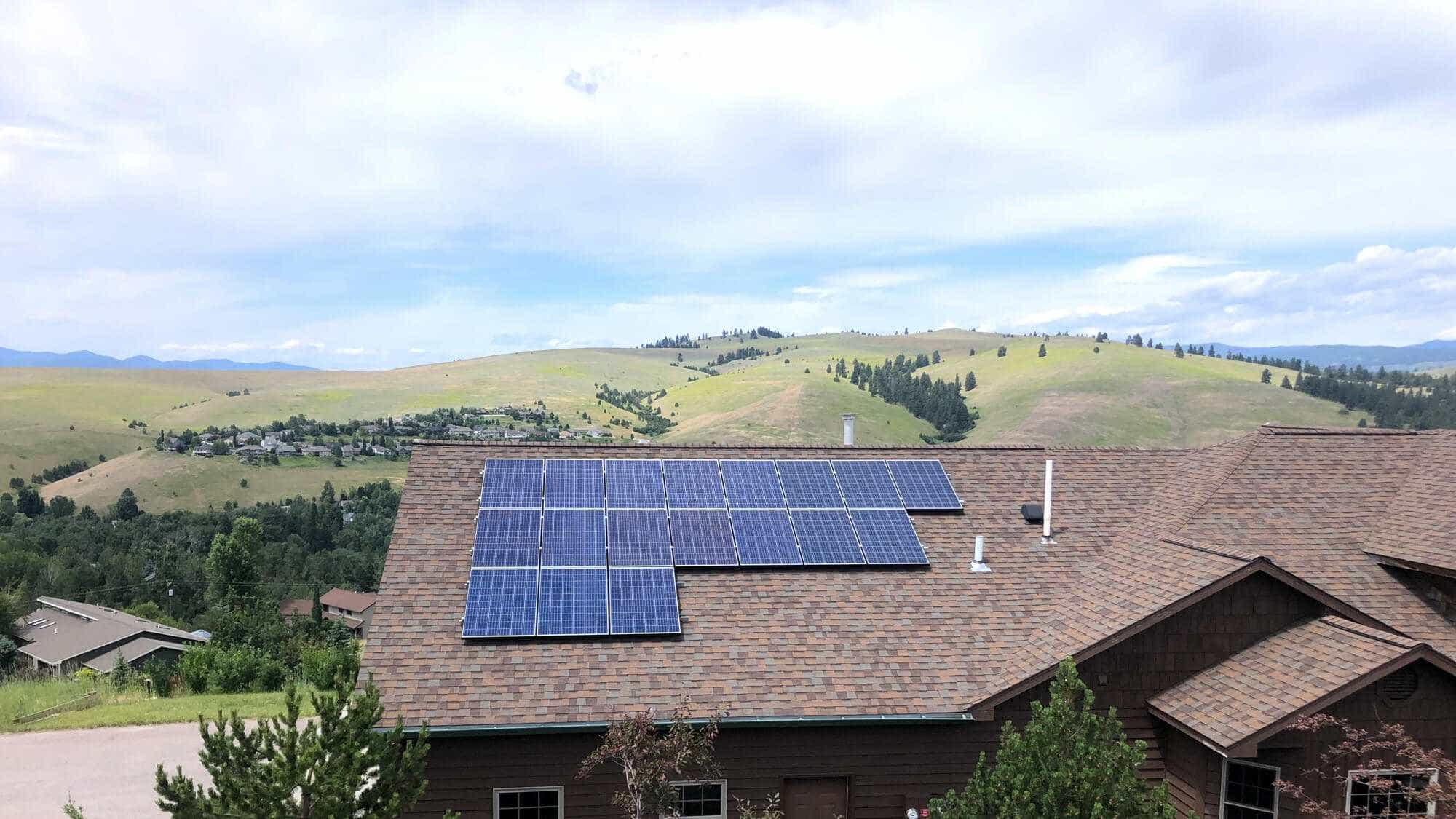 Solar Panels Grant Greek Missoula